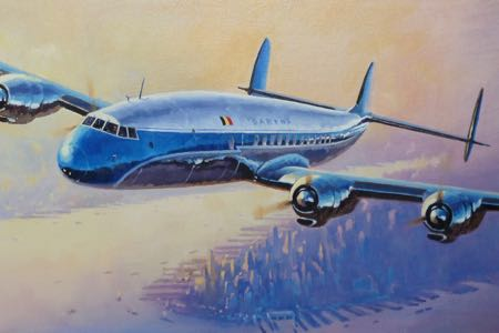 Super Constellation Sabena perinotto