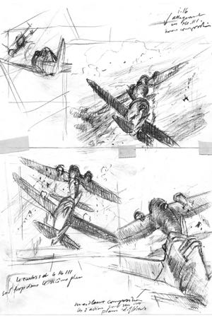 making of aviation art perinotto artbook1