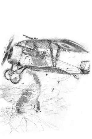 Nieuport 23 perinotto aviation art