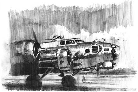 B-17 perinotto aviation art artbook 1