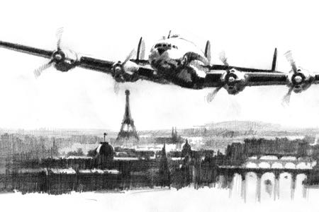 constellation aviation art perinotto paris ari franceartbook2