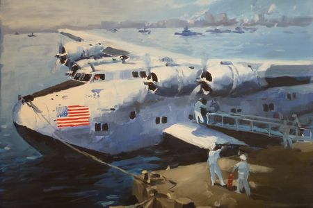 boeing 314 painting perinotto